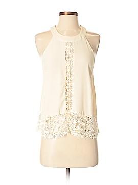 Astr Sleeveless Silk Top Size XS