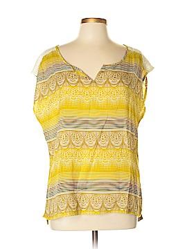 PrAna Short Sleeve Blouse Size XL