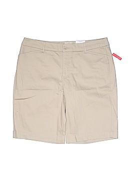 St. John's Bay Khaki Shorts Size 16