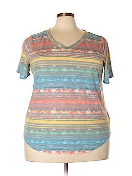 Signature Studio Short Sleeve T-Shirt Size 3X (Plus)