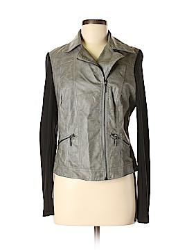 Bisou Bisou Faux Leather Jacket Size M