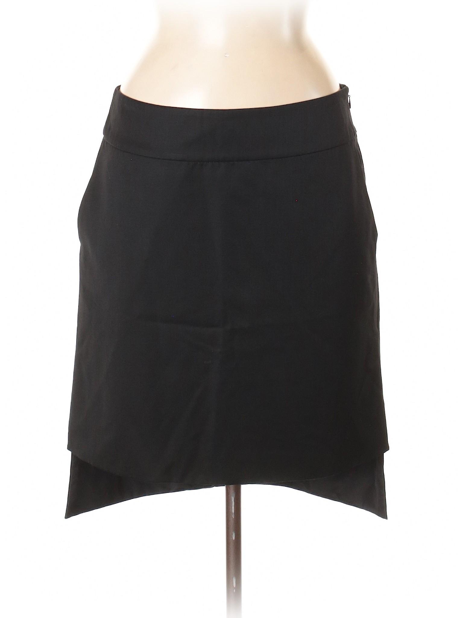 Yves Boutique Gauche Rive Skirt Laurent Saint leisure Wool 5Axqa6