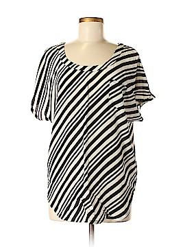 Shoshanna Short Sleeve Silk Top Size 4