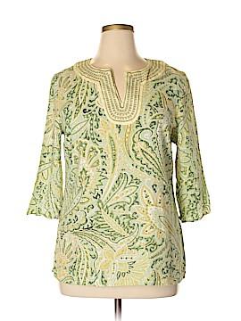 Susan Bristol 3/4 Sleeve Blouse Size XL