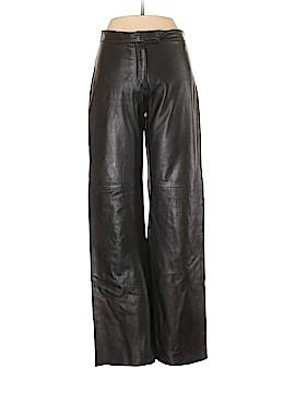 Bebe Leather Pants Size 6