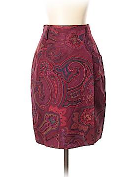 Ellen Tracy Silk Skirt Size 2 (Petite)