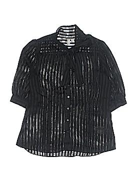 Go International 3/4 Sleeve Blouse Size XL