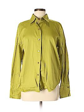 Linda Allard Ellen Tracy Long Sleeve Button-Down Shirt Size 10