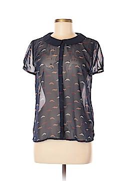 Vivienne Vivienne Tam Short Sleeve Blouse Size M