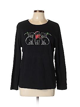 Karen Scott Long Sleeve T-Shirt Size XL