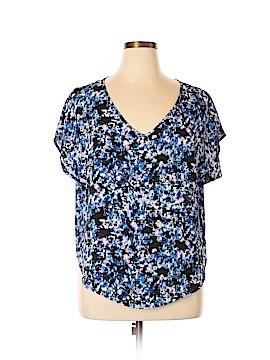 Lush Short Sleeve Blouse Size XL