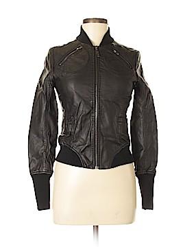 Esley Faux Leather Jacket Size S