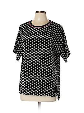 Uniqlo Short Sleeve Blouse Size L