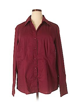 Genuine Sonoma Jean Company Long Sleeve Button-Down Shirt Size 2X (Plus)
