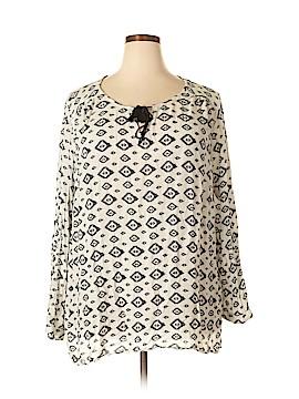 Artisan Long Sleeve Blouse Size 3X (Plus)