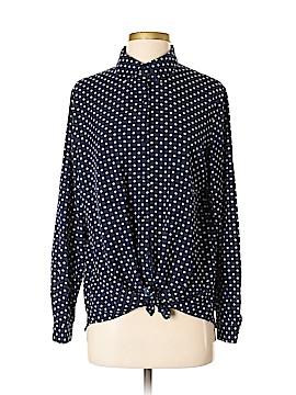 Susan Graver Long Sleeve Blouse Size 4