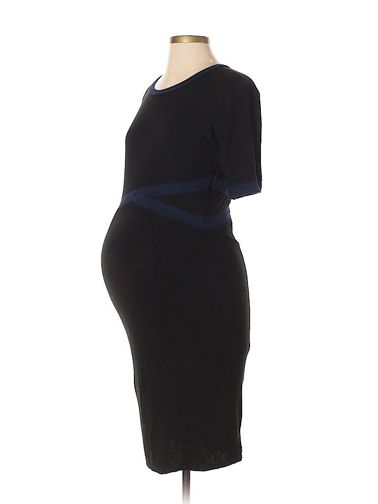 Kimi + Kai Maternity Women Casual Dress Size S (Maternity)
