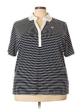 Cathy Daniels Short Sleeve Polo Size 2X (Plus)