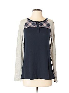 Hem & Thread Long Sleeve Henley Size S