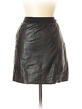 Ann Taylor LOFT Leather Skirt Size 2