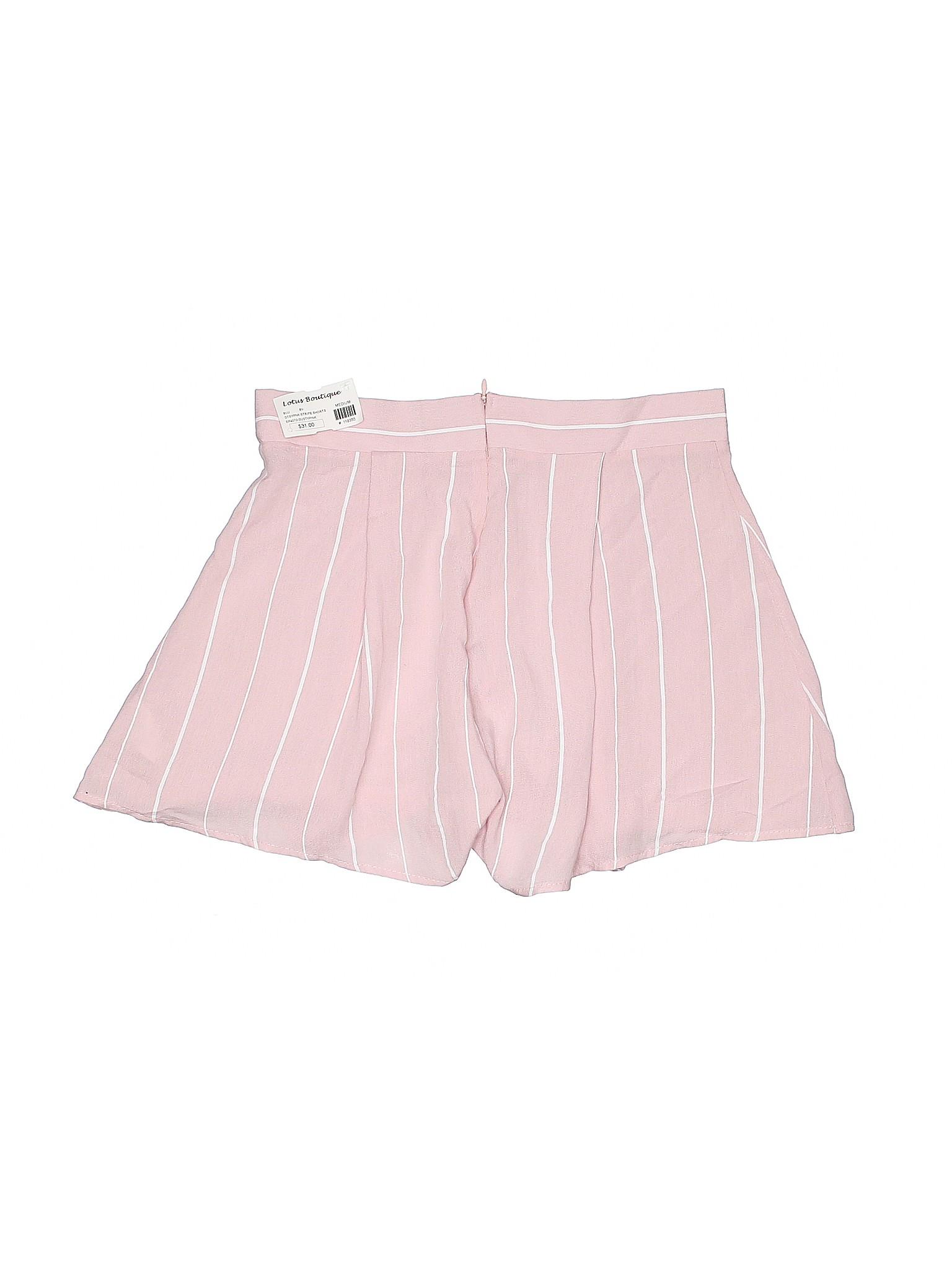 Boutique Winter Blush Shorts Dressy Blue qnB0pqO