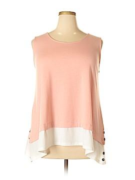 Simply Noelle Short Sleeve Top Size XXL