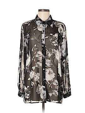 Susan Graver Long Sleeve Blouse Size 8