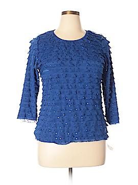 Elementz 3/4 Sleeve Top Size XL (Petite)