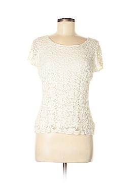 Emma James Short Sleeve Blouse Size M