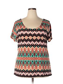 Bobbie Brooks Short Sleeve Top Size 3X (Plus)