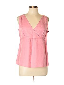 Garnet Hill Sleeveless Blouse Size 10