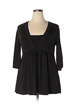 Grace Elements 3/4 Sleeve Top Size XL