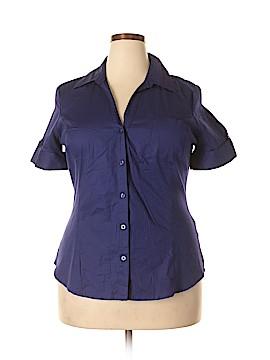 Attention Short Sleeve Button-Down Shirt Size XXL