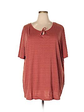 Ulla Popken Short Sleeve T-Shirt Size 24 (Plus)
