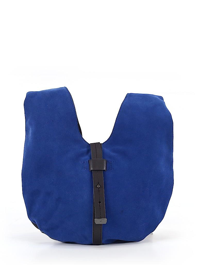 9c4f9b154b34 Halston Heritage Solid Dark Blue Hobo One Size - 68% off