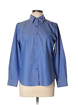 Pendleton Long Sleeve Button-Down Shirt Size 10 (Petite)