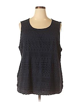 Croft & Barrow Sleeveless Blouse Size 3X (Plus)