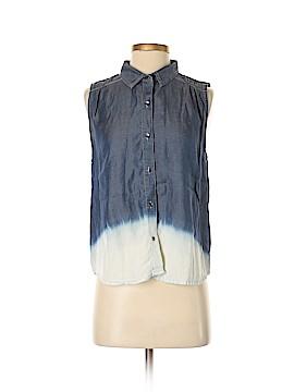 CALVIN KLEIN JEANS Short Sleeve Button-Down Shirt Size M