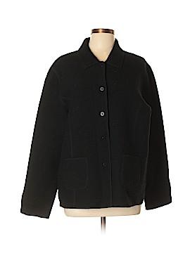 Eileen Fisher Wool Coat Size L