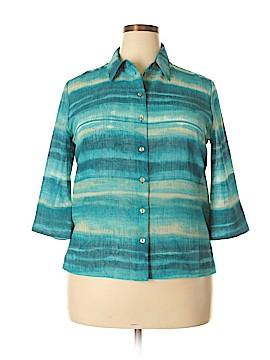 Allison Daley 3/4 Sleeve Blouse Size 14 (Petite)