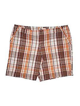 Faded Glory Khaki Shorts Size 20w (Plus)