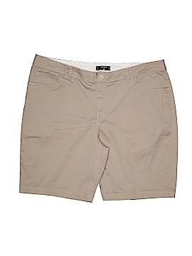 Riders by Lee Khaki Shorts Size 20w (Plus)