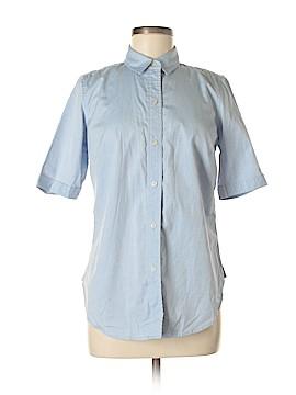 Liz Claiborne Short Sleeve Button-Down Shirt Size 6