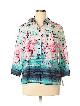 Alia Short Sleeve Blouse Size 14 (Petite)