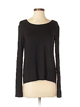 SJOBECK Long Sleeve Silk Top Size XS