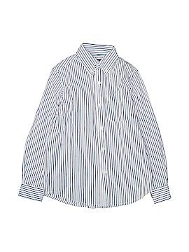 E-Land American Long Sleeve Button-Down Shirt Size 7