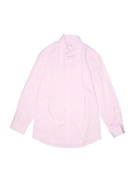 Isaac Mizrahi Long Sleeve Button-Down Shirt Size 10