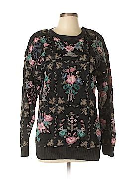 Signature Pullover Sweater Size L
