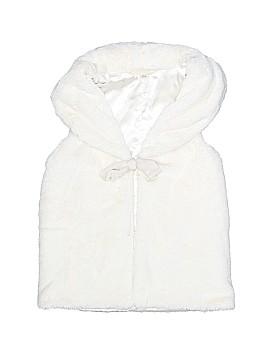 Lands' End Faux Fur Vest Size 5 - 6