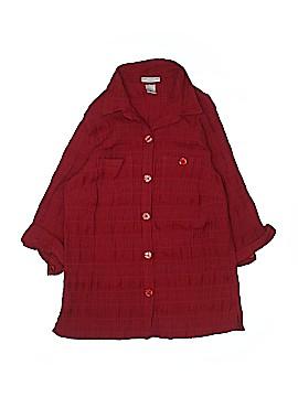Rebecca Malone 3/4 Sleeve Blouse Size 1X (Plus)